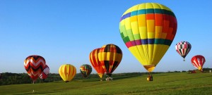Hot Air Ballooning Over the Avon Valley